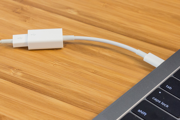 how to connect usb to usb c