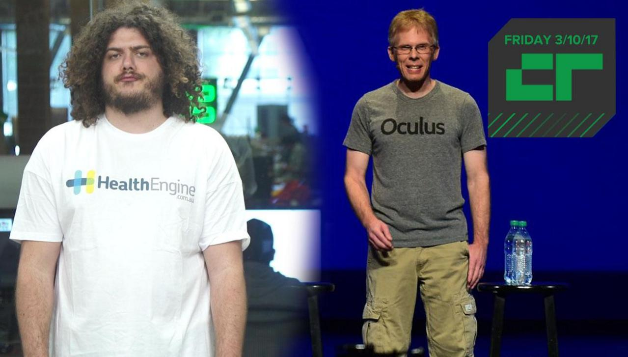 Crunch Report | Oculus CTO Is Suing ZeniMax...