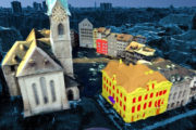 Project recreates cities in rich 3D from images harvested online...