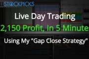 Live Trading Strategy on $DRYS +$2,150 Profit In A Day Trading...