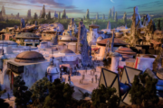Here's a sneak peek of what Disney's Star Wars Land will look lik...