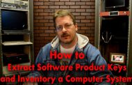 How to Extract Software Product Keys & Inventory From Computer Sy...