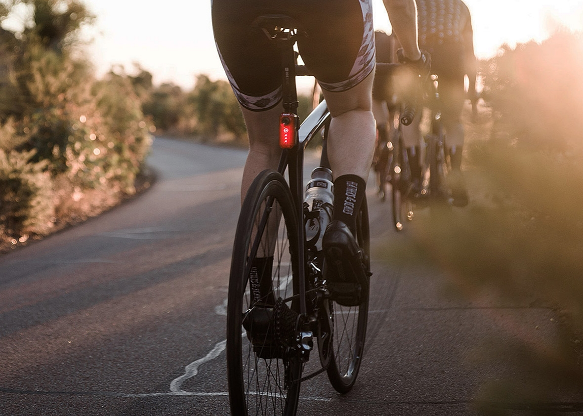 Strapping This Light to Your Bike Is the Smartest Thing a Cyclist...