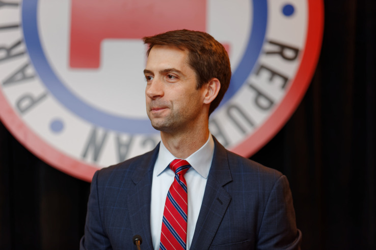 Here's what rumored Trump CIA pick Tom Cotton thinks about survei...