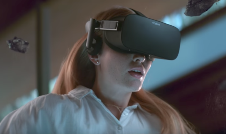 Virtual reality headset unit sales are slowly improving...
