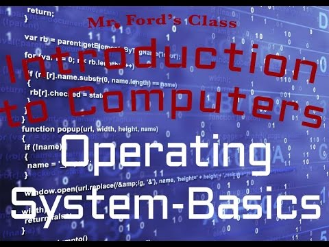 Computer Software : Operating System-Basics  (03:03)...