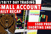 9/18/17 Day Trading Small Account $NBRV MADNESS!...