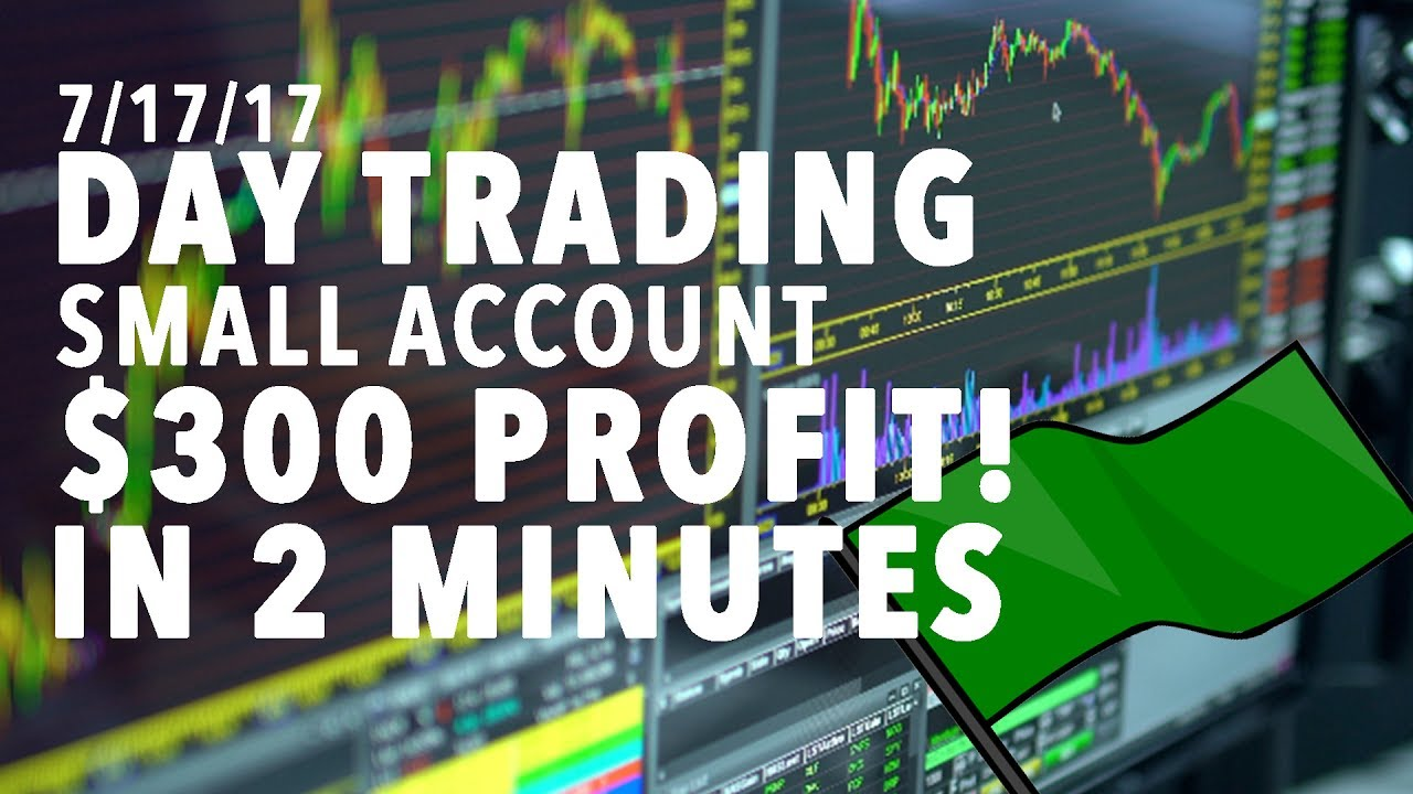 Day Trading Small Account LIVE $300 PROFIT IN 2 MINUTES RESISTANC...