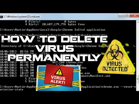 How to Delete virus manually without using antivirus software or ...
