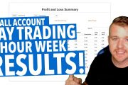 DAY TRADING 4 HOURS A WEEK RESULTS!...