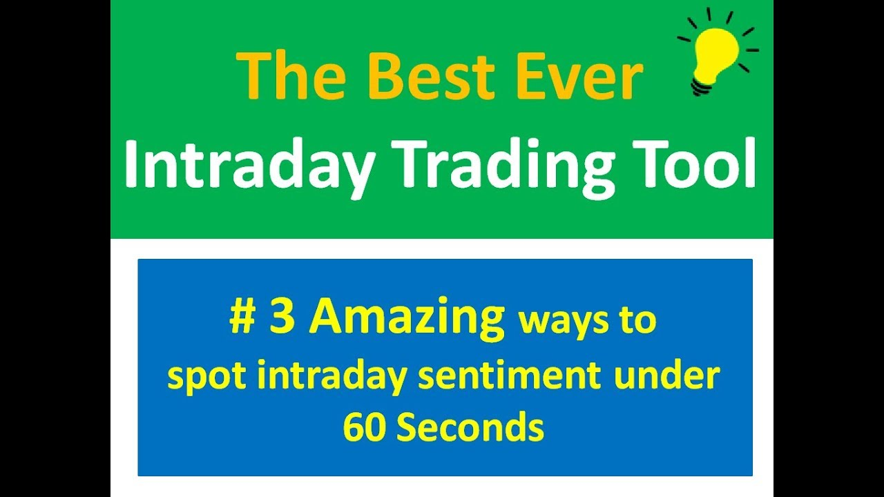 The Best Ever Intraday Tool for Day Trading...