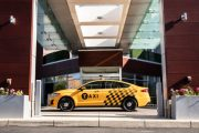 Ford's latest taxis use diesel and hybrid powertrains...