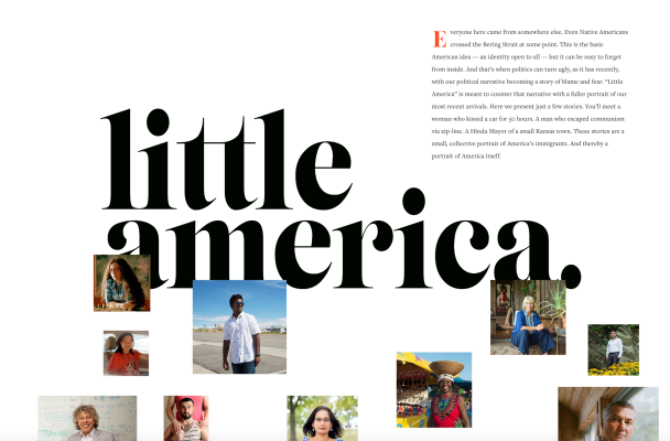 Apple picks up the immigrant anthology series 'Little America' fo...