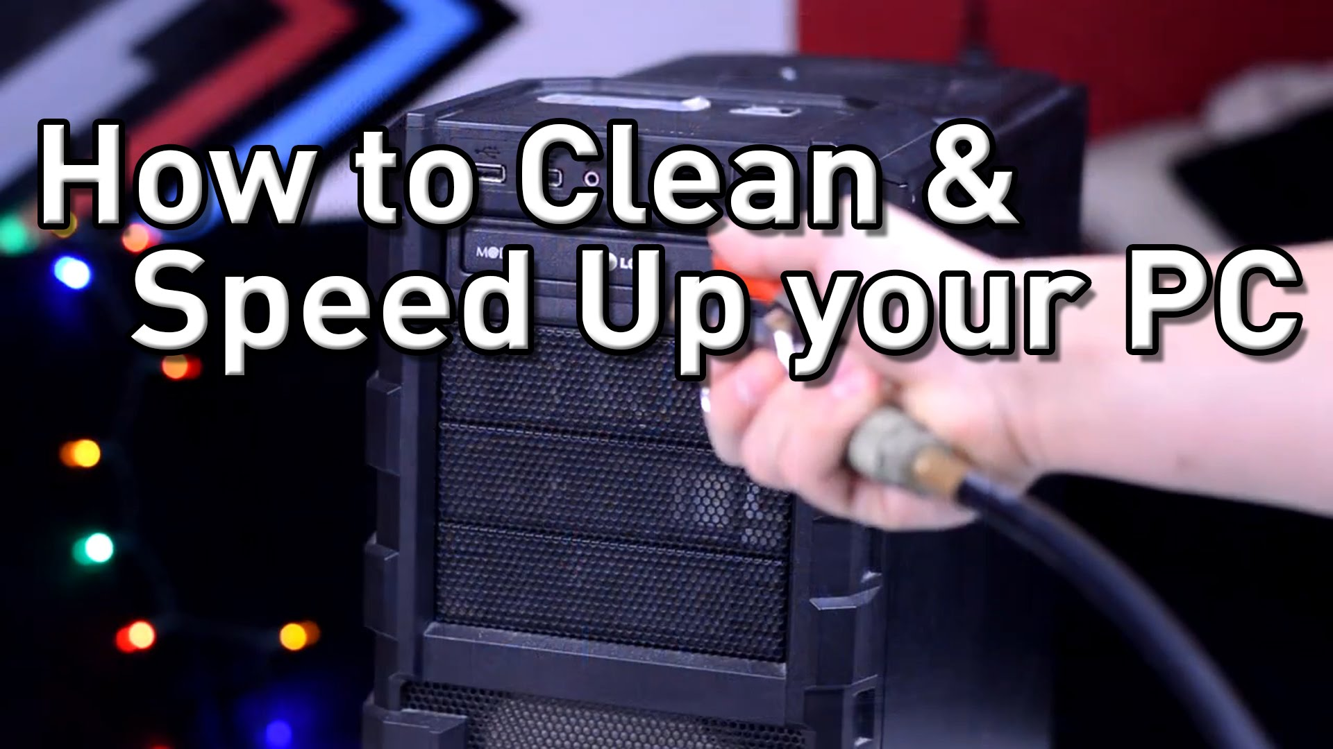 How To Clean & Speed Up Your PC! Hardware & Software!...