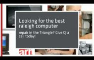 Computer repair raleigh by CJ Computer Services...