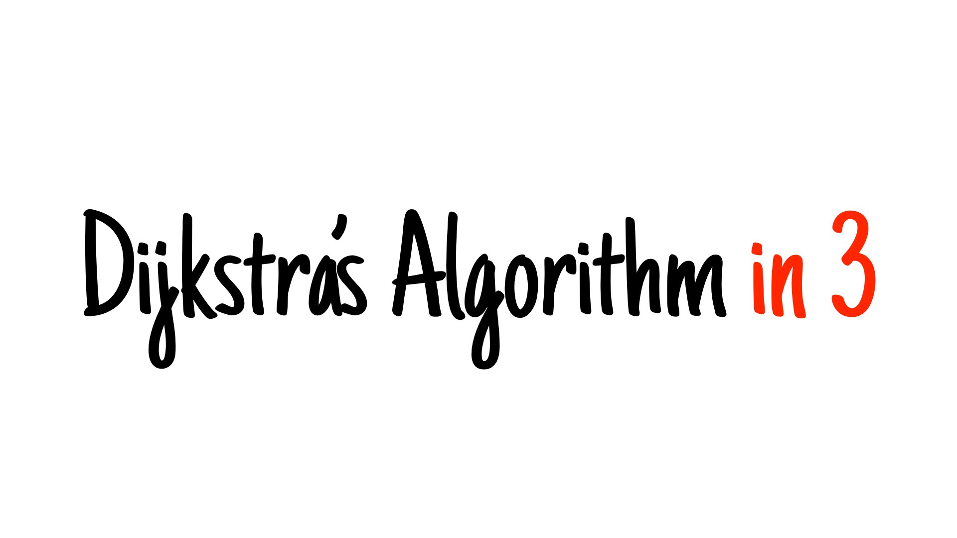 Dijkstra's algorithm in 3 minutes — Review and example...