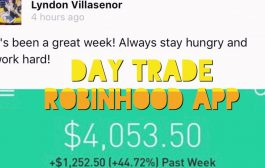 How To Make $1,252.50 Day Trading Penny Stocks | Robinhood App...