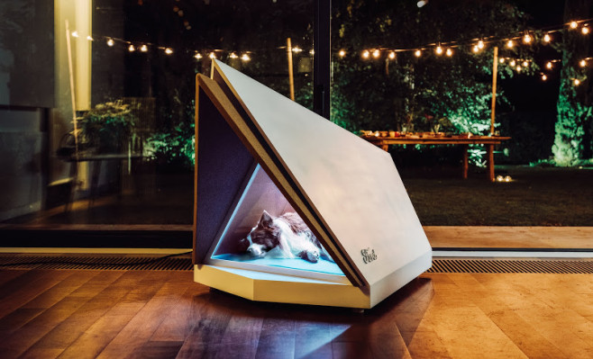 Ford comes up with a prototype noise-cancelling kennel to shelter...