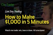 Live Day Trading: How to Make $1,000 in 5 Minutes...