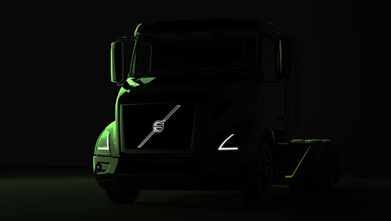 Volvo Trucks teases the all-electric semi truck it's bringing to ...