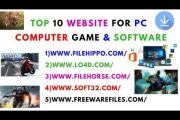 Top 10 Website For Computer Game & Software Free Downloading in H...