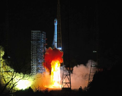 China's lunar probe makes history by successfully soft-landing on...
