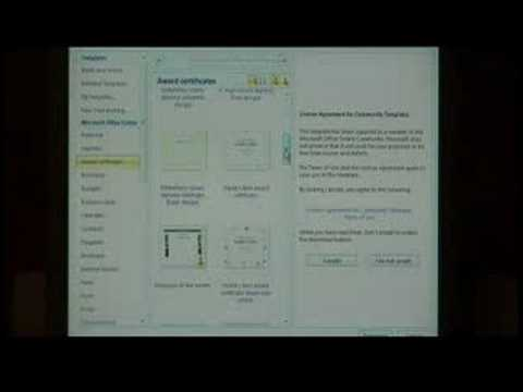Computer Software Tips : How to Make a Certificate Using Microsof...