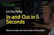 Live Day Trading – In-and-Out in 5 Seconds...