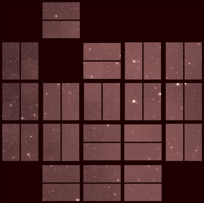 "NASA releases the ""last light"" image taken by Kepler before it re..."