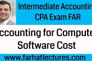 Accounting for Computer Software Cost | Intermediate Accounting |...