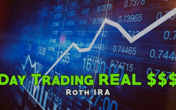 Day Trading REAL Money in my Roth IRA!...