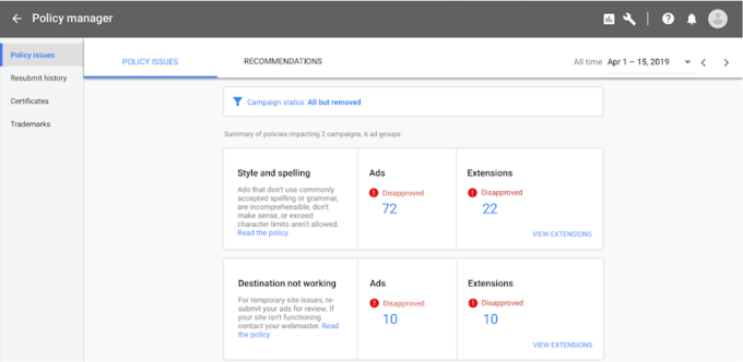 Google removed 2.3B bad ads, banned ads on 1.5M apps + 28M pages,...