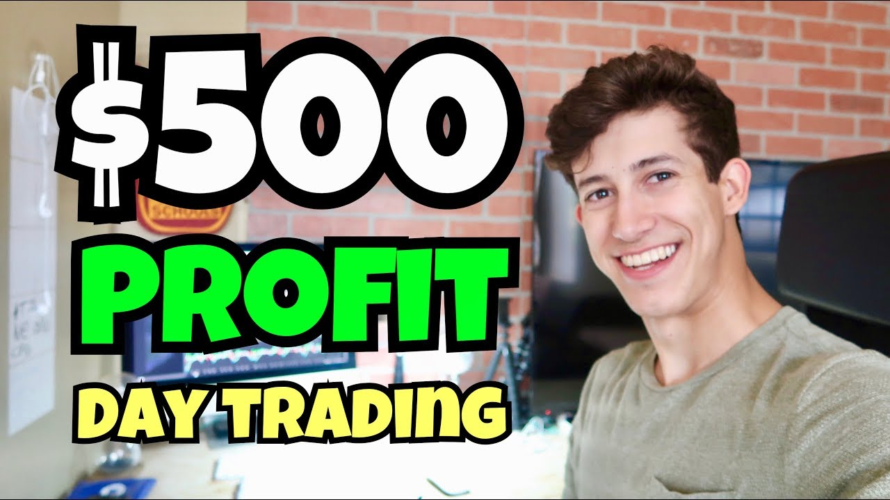 Made $500 Profit Day Trading A Simple Pattern | 2018...