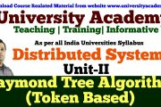 L10:Distributed Mutual Exclusion   Token based algorithms Raymond...