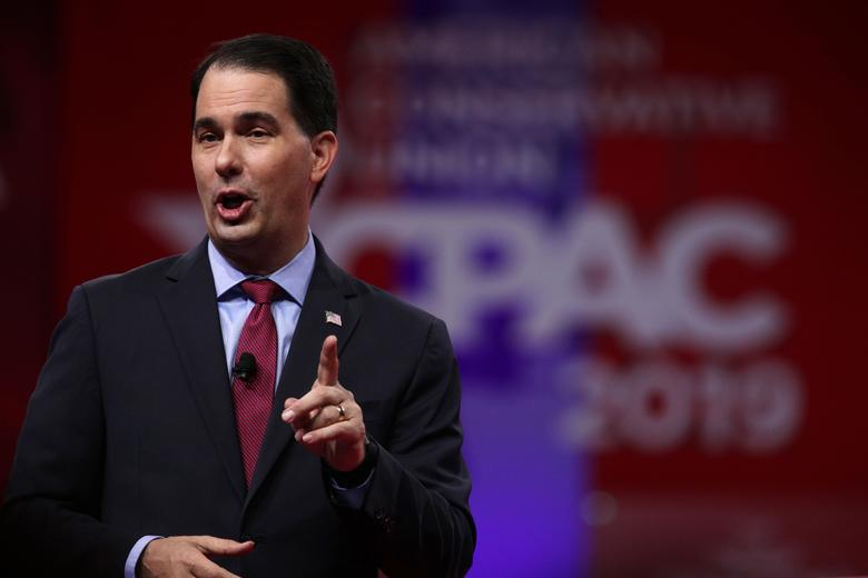 The Disembodied Hand of Scott Walker Still Governs Wisconsin...