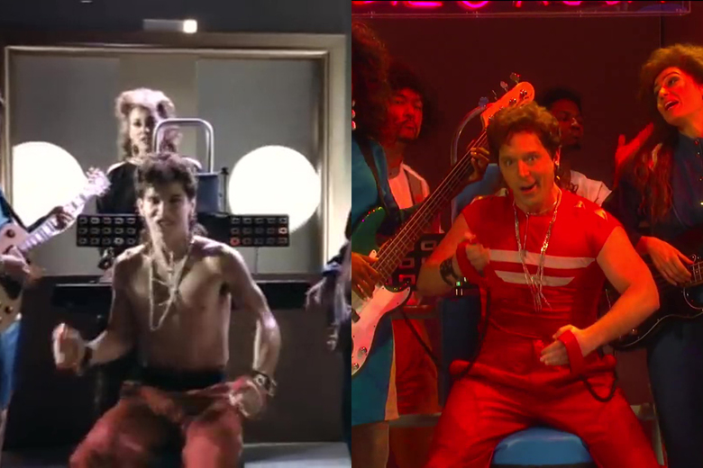 <em>SNL </em>Meticulously Recreated a 1985 Music Vide...