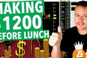 Day Trading Making $1200 Before Lunch!...