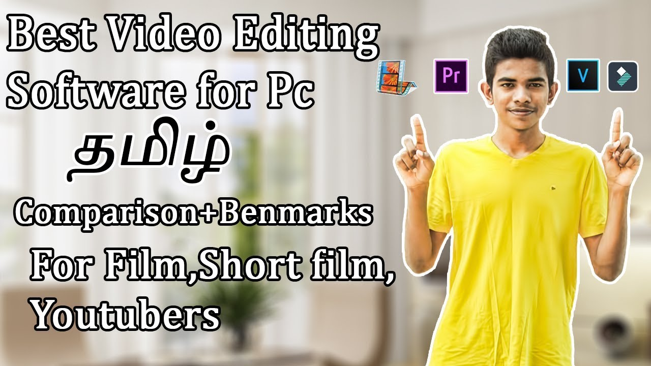 Best Video Editing Software for Pc in Tamil for Youtuber, Short F...