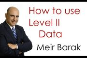 Live Day Trading - How to use level II Data - Meir Barak...