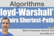 Floyd Warshall Algorithm: All-pairs Shortest-paths...