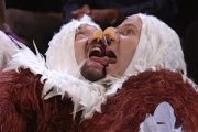 Watch Will Ferrell and Tom Green Dress Up as Bald Eagles and Torm...