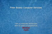 Peter Bowey Computer Repairs, Service and Support...