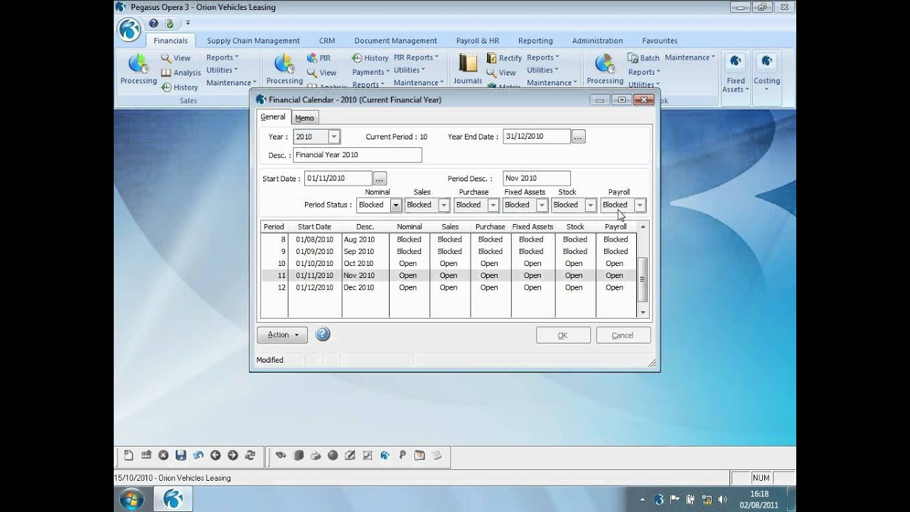 Pegasus Opera 3 Open Period Accounting - Accounting Software - Co...