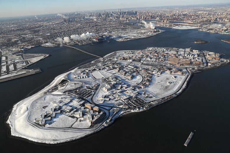 New York City Council Votes to Close Notorious Rikers Island Pris...