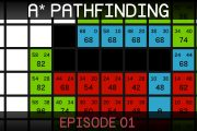 A* Pathfinding (E01: algorithm explanation)...