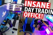 INSANE  DAY TRADING OFFICE!...