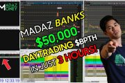 MADAZ BANKS +$50,000 IN JUST 3 HOURS DAY #TRADING $BPTH +508% MOV...