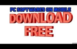 How to Download PC Softwares on Mobile...