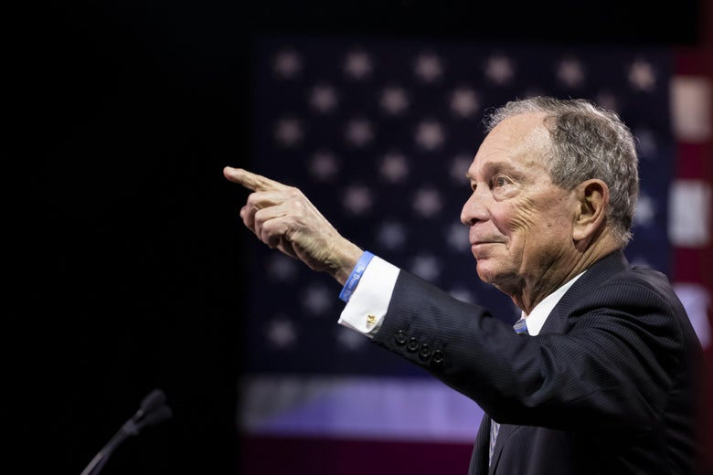 Bloomberg's Climbing National Poll Numbers For the First Time Qua...