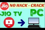 How To Play Jio TV In Computer Without Any Software - Jio Specail...